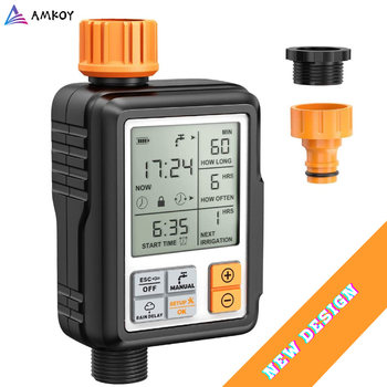 Lcd-scherm Elektronische Automatische Water Timer Sprinkler Controller Outdoor Tuin Timer Automatisch Sproeisysteem Apparaat Irrigatie Gereedschap