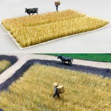 Escena de simulación hecha a mano, Escala de arbustos de imitación, materiales, modelo de construcción, modelo de hierba, aguja, C5Y0