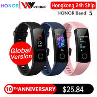 Globale version Honor band 5 smart band AMOLED herz rate fitness schlaf schwimmen sport blut sauerstoff tracker