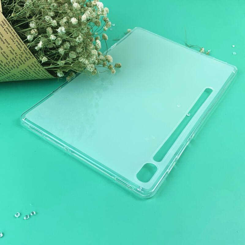 Tablet Silicon Protector Case Cover Voor Samsung Galaxy Tab S6 10.5 Inch T860 T865 Soft Clear Tpu Shock-Proof case Cover SM-t860