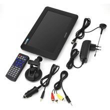 9 pouces TV numérique DVB-T-T2 HD analogique Portable Mini TV 16:9 800*480 couleur lecteur de télévision prise ue 110v - 240v pour voiture à la maison