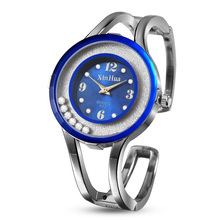 New Womens Watches Fashion Bangle Women Crsytal Quartz Steel Watch Relogio Feminino montre femme