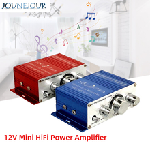 Stereo Amplifier 12V Mini HiFi Power Amplifier Stereo Audio
