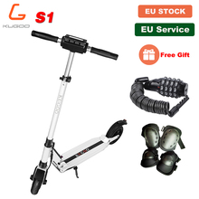[Europe Stock] KUGOO S1 Folding Electric Adult Scooter 30KM 30KM/H LCD Display e Scooter PK M365 Electric scooter PK Ninebot