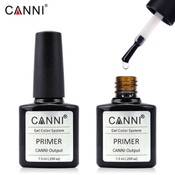 CANNI BH Bond Primer, Base Coat Topcoat and Color Gel Polish Water Base No Acid Fast Dry Nail Liquid Manicure Gel Varnish Primer 86102 soak off primer gel gdcoco 8ml nail polish base coat top coat matte gel varnish ultra bond no acid primer hybrid basegel
