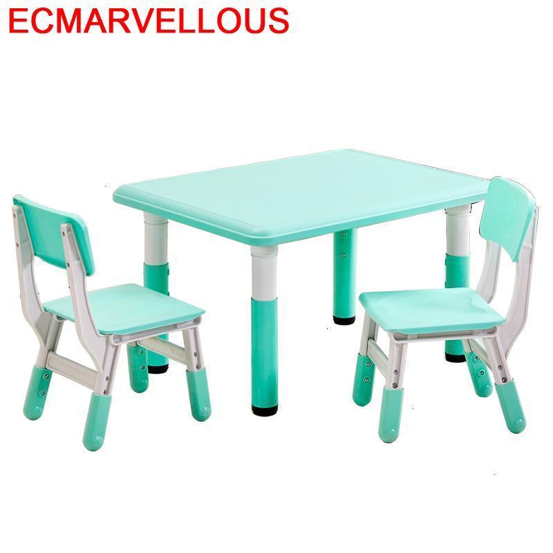 Desk Cocuk Masasi Baby Silla Y Infantiles Chair And Play Kindergarten Mesa Infantil Bureau Enfant Study For Kids Children Table