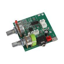 20 Вт Класс D 2,1 канальный сабвуфер усилитель доска 3D объемный цифровой стерео усилитель плата DC 5 В T0318