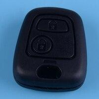 Beler ne73 lâmina 2 botão do carro remoto chave fob caso escudo apto para toyota aygo 2005 2006 2007 2008 2009 2010