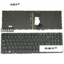 Aksesoris Laptop New US Laptop Keyboard For Acer Aspire E15 E5-576 E5-576G E5-576G-5762 E5-576G Kami Keyboard dengan Lampu Latar(China)