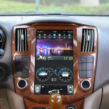 """11.8"""" Android 9.0 PX6 4+64G Vertical Tesla Radio Car Multimedia Player Stereo GPS Navigation For Lexus RX300 RX330 RX350 RX400H"""