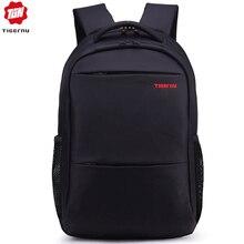 حقيبة ظهر بعلامة تجارية للرجال عالية الجودة 15.6 بوصة حقيبة ظهر للكمبيوتر المحمول للنساء حقيبة ظهر خفيفة من النايلون حقيبة مدرسية للفتيات والصبيان