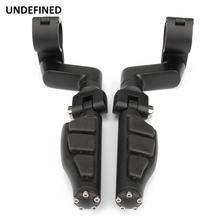 1 25mm Motorcycle Highway Foot Pegs Engine Guard Footrest Footpegs For Harley Sportster Touring Road King Street Glide Softail Dyna Fatboy