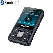 Оригинальный Bluetooth MP3-плеер ruizu x55 с зажимом, портативный мини-плеер со встроенным 8G и шагомером, радио, электронная книга, запись