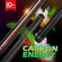 FURY-tacos de billar oficial CFP Cue12.5/12,8mm Kamui Tip PAS, eje de fibra de carbono puro, profesional, tecnología de carbono