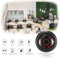 IP Camera Mini Wifi Camera with Infrared Night Vision 2 Way Audio Motion Tracker for Home Security Baby Monitor V380