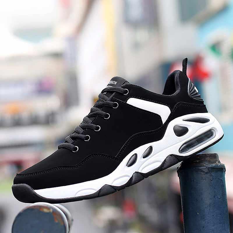 الرجعية حذاء كاجوال الذكور منخفضة اسطوانة Lncrease ارتداء مقاومة وسادة هوائية لينة أسفل الرياضة Shoess Tudent الحركة حذاء كرة السلة