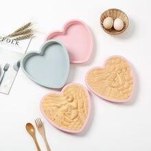 8 дюймовые формы для торта в форме сердца выпечки конфеты жевательные