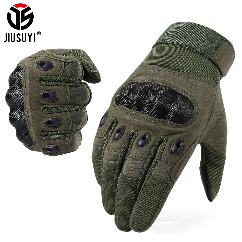 Touch Screen Tactical Gloves Army Military Paintball Shooting Airsoft Combat Anti-Skid Hard Knuckle Full Finger Gloves Men Women