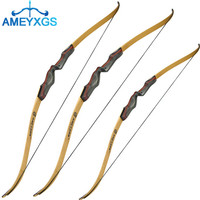 62 Archery Takedown Recurve Bow Hunting Traditional Recurve Bow 20lbs 60lbs Right Hand For Hunting Shooting Training Target