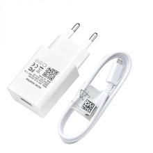 Kabel USB do ładowarki ściennej do Xiaomi 8 9 Lite Redmi Note 9 8 8T 7 6 Pro ładowarka do telefonu Samsung Huawei Micro USB type-c Adapter kablowy tanie tanio LTAO ROHS Inne CN (pochodzenie) 1 Port Podróży Ac Źródło Phone Charger White 0 2m 1m 5V 2A USB Phone Charger Travel Wall Charger Adapter