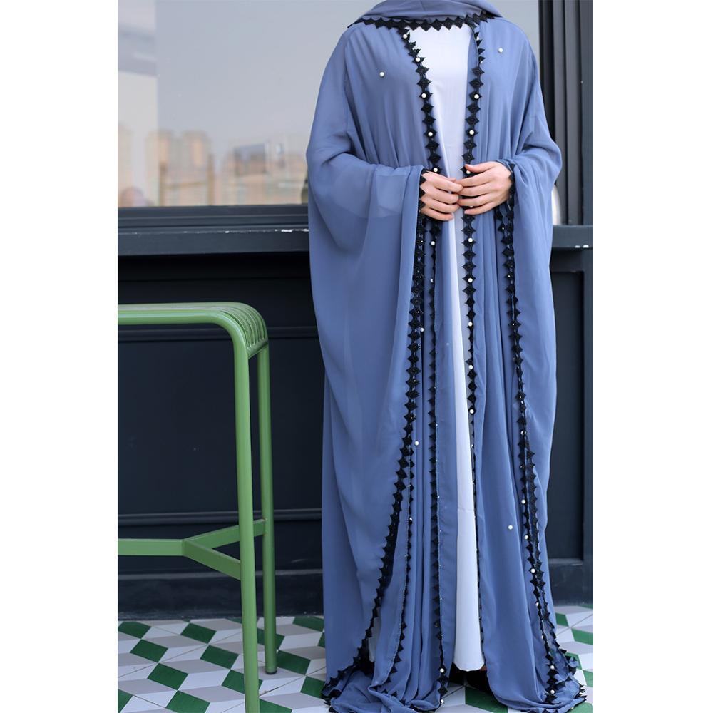 Women Caftan Elbise Jilbab Robe Ramadan Clothing Mesh Kaftan Abaya Dubai Turkish Islamic Muslim Hijab Dress Abayas
