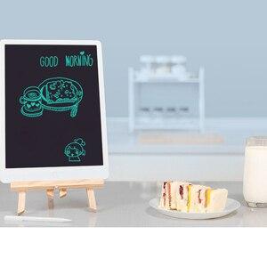 """Image 3 - Xiaomi mijia lcd tablet de escrita em estoque com caneta 10/13. placa gráfica de caligrafia eletrônica desenho digital 5 """", bloco de mensagem"""