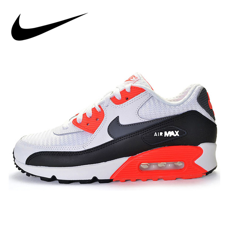 Original Authentic NIKE AIR MAX 90 Men's Running Shoes New Arrival Authentic Shoes Sport Outdoor Sneakers Good Quality 537384