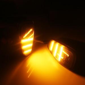 Image 4 - iJDM Smoked Lens Amber LED Bulb Front Side Marker Light Kit For 2015 up Jeep Renegade, Replace OEM Amber Sidemarker Lamps 12V