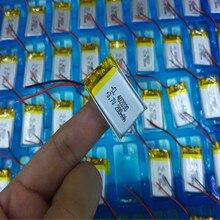 Полимерная литиевая батарея 3,7 V, 402030 042030 200mah может быть настроена оптом CE FCC ROHS MSDS сертификация качества