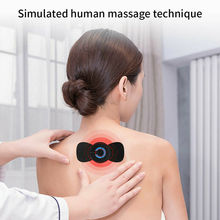 Neck Back Massager Portable Mini Waist Back Massager Cervical Massage Stimulator easy to carry and s