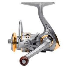 Mini Spinning Fishing Reel 500 Series 12 BB Metal Coil Ice Lure Saltwater freshwater