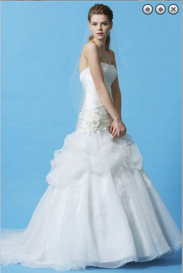 Free Shipping Elegant 2016 Vestidos New Designer White Long Organza Bridal Formal Simple Plus Size Lace Wedding Gowns Dresses