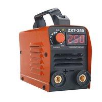 ZX7 250 250A Mini Electric Welding Machine Portable Digital Display MMA ARC DC Inverter Plastic welder Weld Equipment Durable
