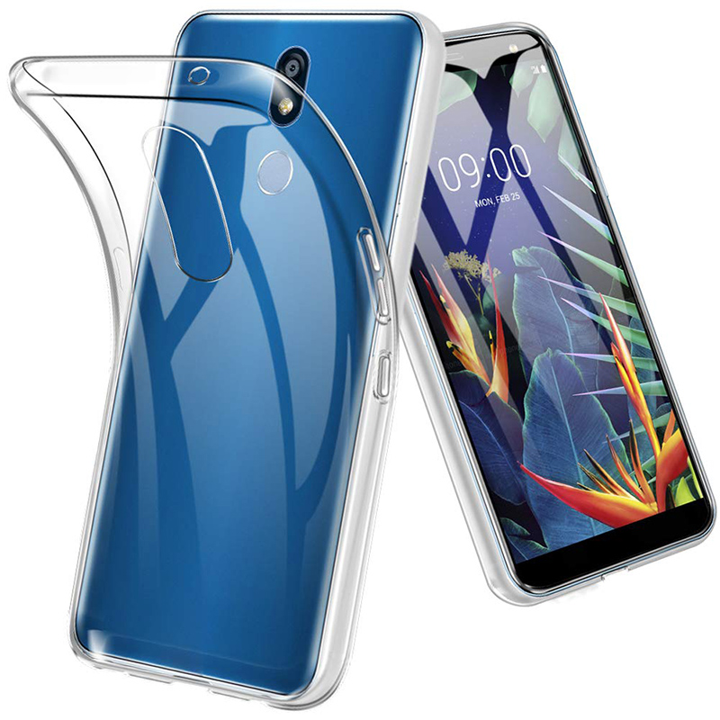 Transparent Slim TPU for LG K40 K12 Plus X4 2019 LGK40 <font><b>K12Plus</b></font> X42019 Phone Case Ultrathin Silicone Soft Clear Back Cover Fundas image