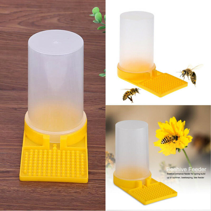 New Beekeeping Tool Honey Entrance Plastic Drinker Bowl Water Hive Entrance Bee Feeder Drinking Tool Beekeeping Equipment Yard
