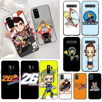 Dani Pedrosa 26 motorcycle Phone Case for Samsung S20 plus Ultra S6 S7 edge S8 S9 plus S10 5G lite 2020 image