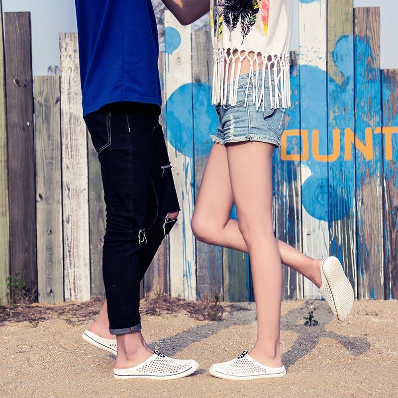 2020 Men&Women Waterproof Aqua Sandals Summer Soft Shoes Outdoor Beach Water Shoes Upstream Creek Non-Slip Lightweight Wading 4