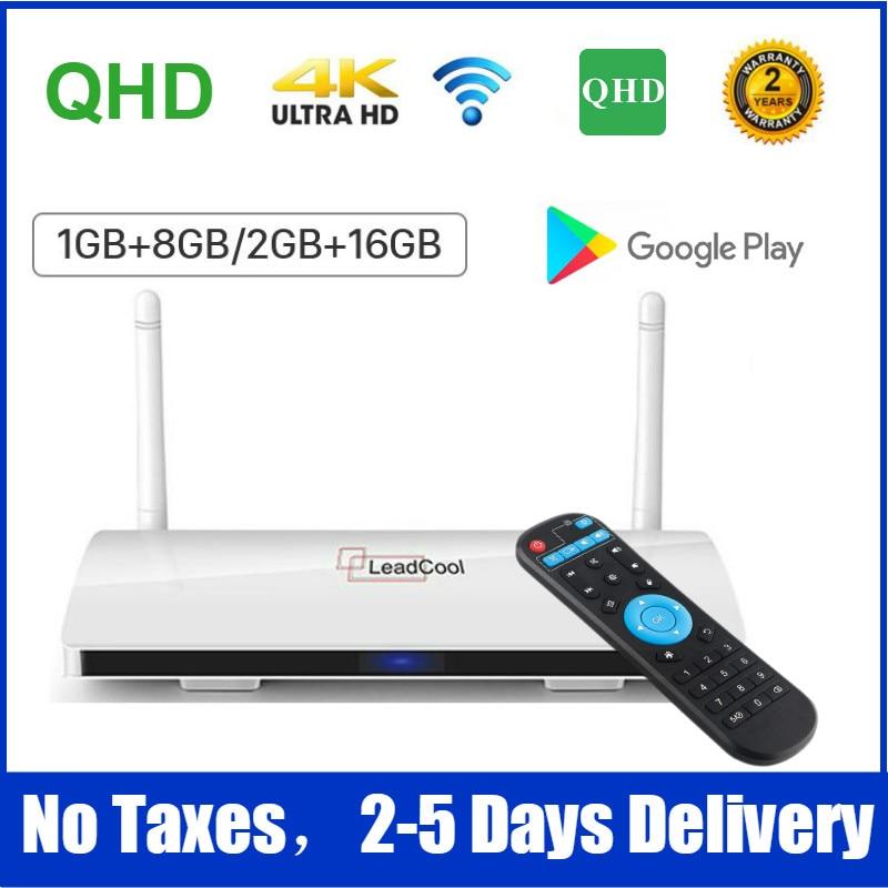Full HD Leadcool Android 9.0 Smart TV Box Amlogic S905W Quad core 8G 16G Media Player TV box Leadcool decoder Set Top Box