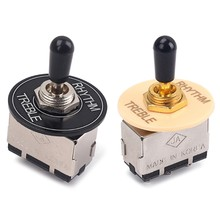 Zinc Alloy 3 Way Toggle Switch For LP GIBSON SG Electric Guitarra Guitar(China)