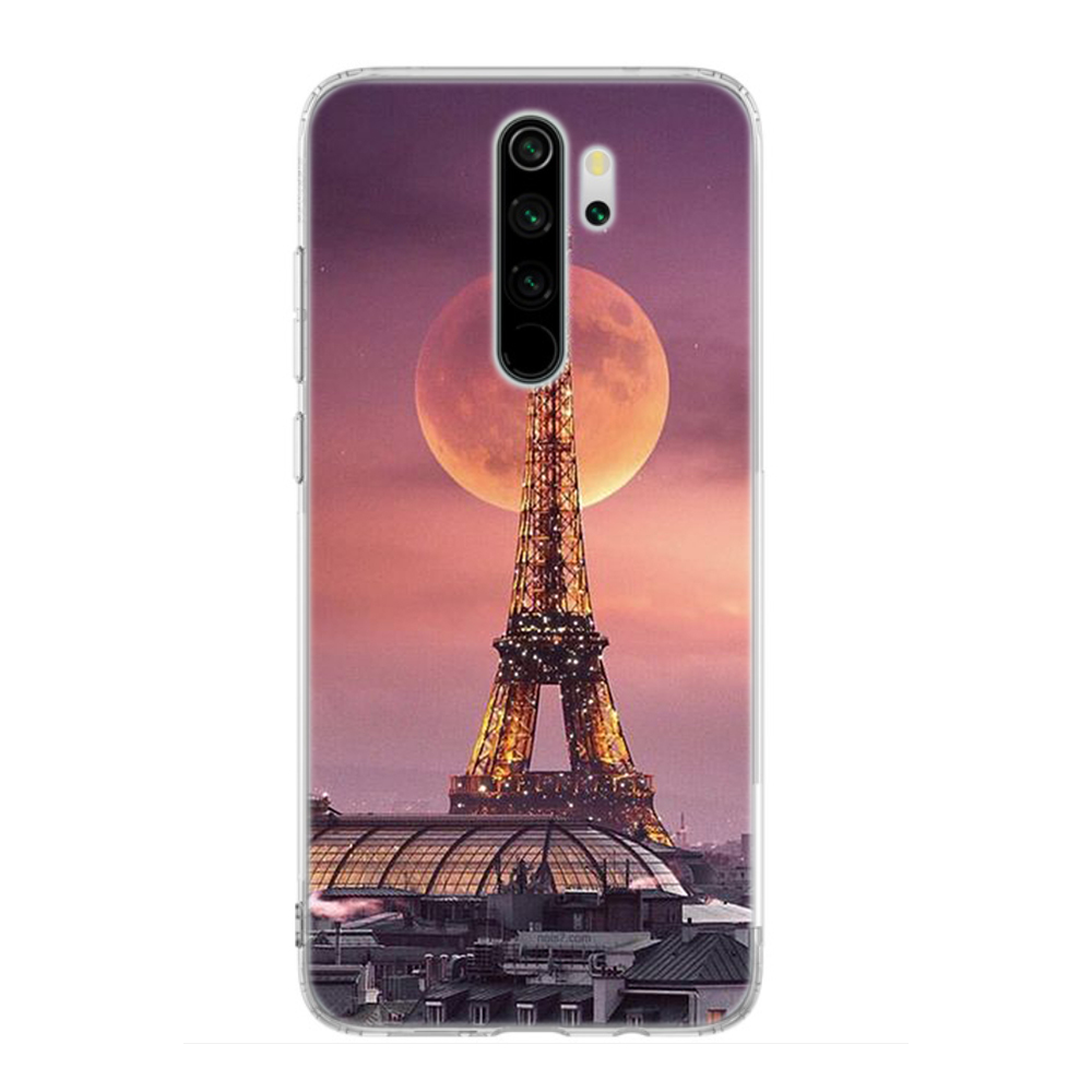 Silicone Case Coque For Xiaomi Redmi Note 8T 9S 6 7 8 Pro 9 Pro Max 6A 7A 8A K20 K30 Pro Cover France Paris The Eiffel Tower