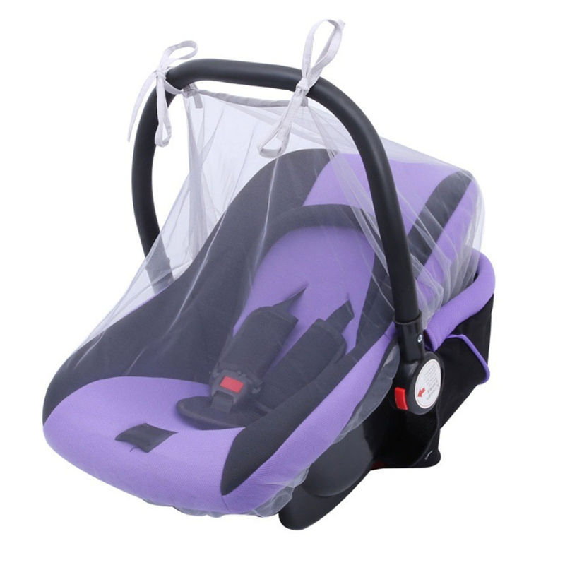 Baby Infant Insect Netting Cover Large Size for Infant Carriers Cradles Cribs Bassinets Playpens Baby Stroller Bed