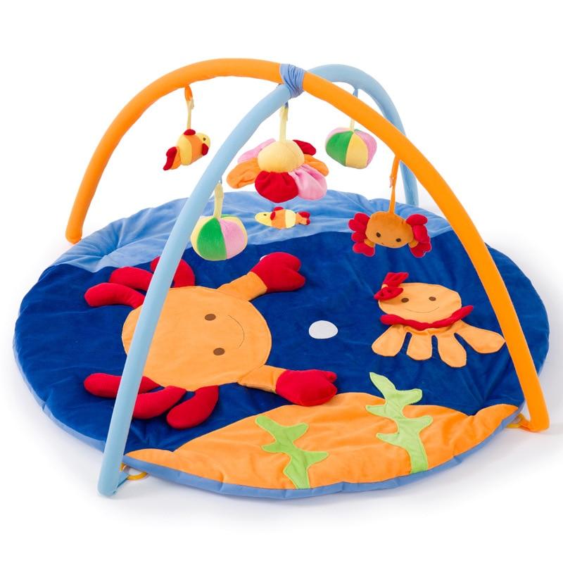 Tapis d'activité bébé doux tapis océan animal berceau enfants tapis bébé fille tapis de noël bébé hochet jouets suspendus bébés tapis de jeu