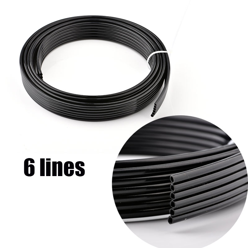 UV ink tube 4 lines 6 lines 8 lines ways for Epson DX4 DX5 DX7 head pipe/Mimaki Mutoh Xuli Galaxy printer ink hose UV(China)