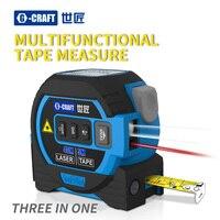 Nuevo tipo de cinta láser inteligente, buscador de rango infrarrojo, cinta métrica tres en uno