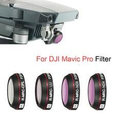 Drone Filter Für DJI Mavic Pro CPL UV STERN ND 4 8 16 32 Objektiv Filter Set Für Mavic Pro gimbal Kamera Zubehör 4K Objektiv Filter