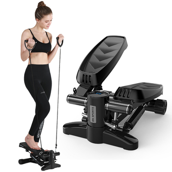 Fitness home mini hydraulic Stepper elderly multi-functional fitness equipment portable Yoga body building Running Machines