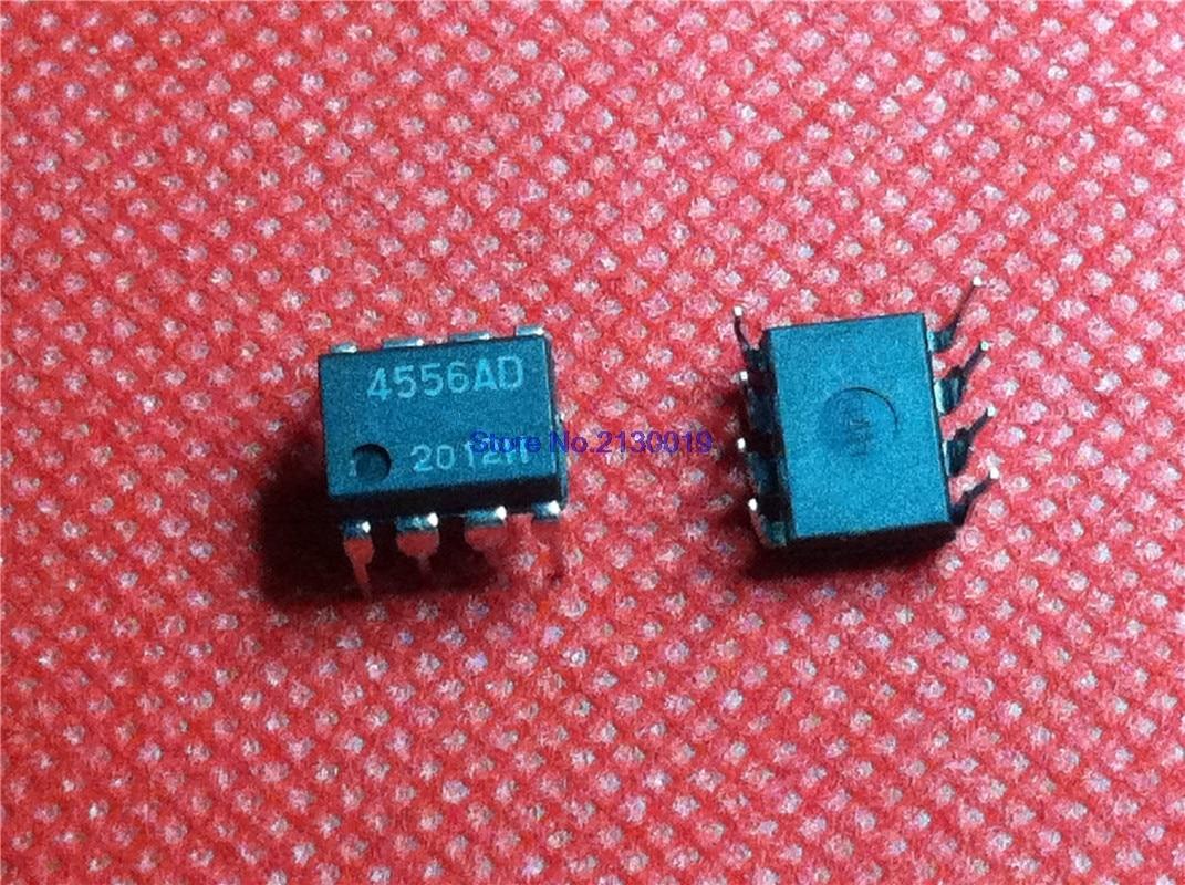 10pcs/lot 4556AD NJM4556AD JRC4556AD DIP-8