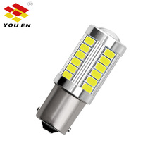 YOUEN 1157 P21/5W BAY15D Super Bright 33SMD 5630 5730 LED Auto Brake light fog light Car Daytime Running Light 12V цена и фото