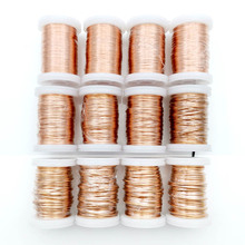 0.13mm 0.25mm 0.51mm 1mm 1.25mm copper wire Magnet Wire Enameled Copper Winding wire Weight 100g цены