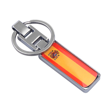 Wallet Keychain Decorative Key-Ring Car-Styling-Accessories Metal Fashion Gift Spain